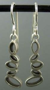 Dangling Short Ovals Earring (ER902D)